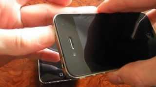 """iPhone 4 novo desliga sozinho e não liga de volta normalmente - VEJA COMO """"RESOLVER"""""""