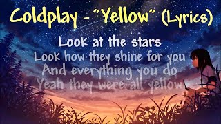Download Coldplay - Yellow (Lyrics)