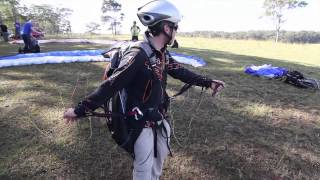 The Front Launch - Paragliding Basics - How to Paraglide