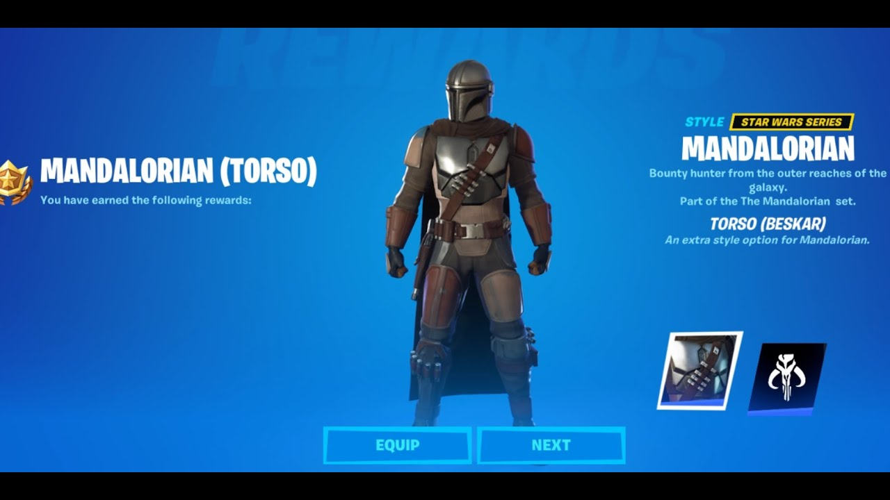 Download How To Unlock Torso Beskar Armor For Mandalorian - Complete a Legendary Quest  Fortnite 