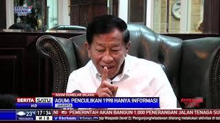 Prabowo Diberhentikan dari Dinas Militer, Agum: Itu Kenyataan