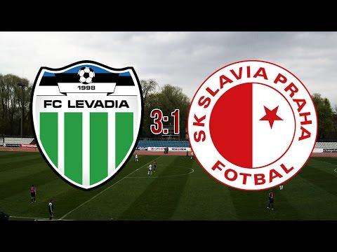 EUROPA LEAGUE | FC Levadia Tallinn - SK Slavia Praha | 3:1 | 14.7.2016