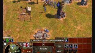 Age of Empires 3 - British Rush