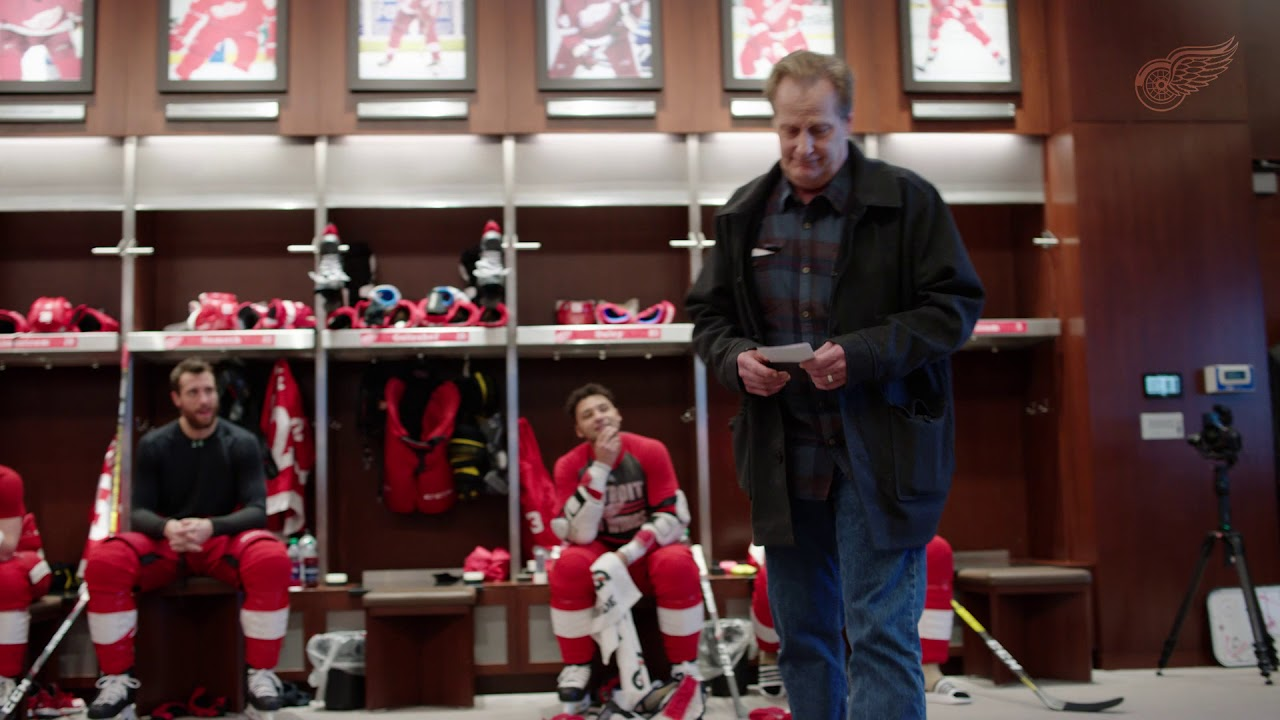 Jeff Daniels And Dave Coulier Read Starting Lineup Detroit Red