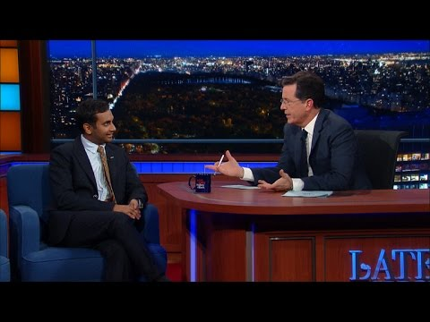 "Aziz Ansari Diversifies ""The Late Show"""