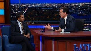 "Aziz Ansari Diversifies ""The Late Show"""