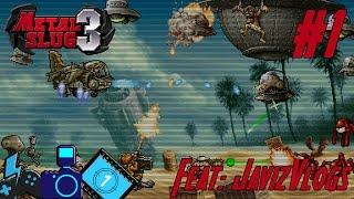 ▶️Metal Slug 3 #1 Feat. JavizVlogs | ¡Heavy Machinegun!