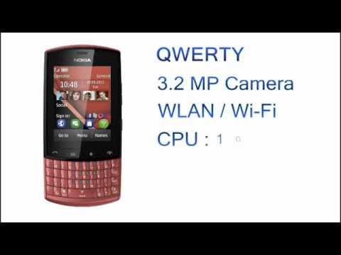 Nokia Asha 303 Features