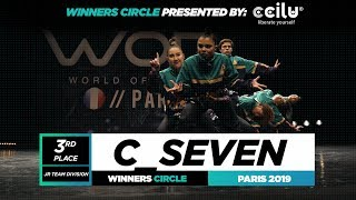 C_SEVEN | 3rd Place Jr Team | World of Dance Paris 2019 | #WODFR19