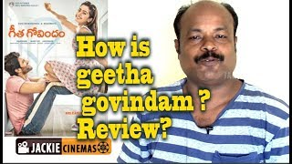 Geetha Govindam Telugu Movie review by Jackiesekar | #jackiecinemas #jackiesekar
