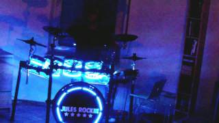 Jules Rockin - Welcome to St. Tropez drum cover