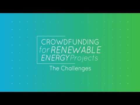 Crowdfunding for RES projects - The Challenges