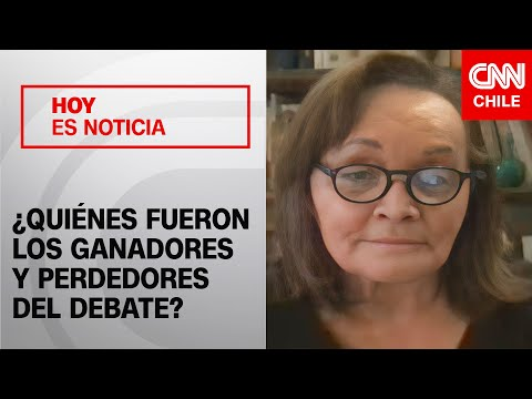 Marta Lagos analiza el debate presidencial: ¿Quiénes fueron los ganadores y perdedores?