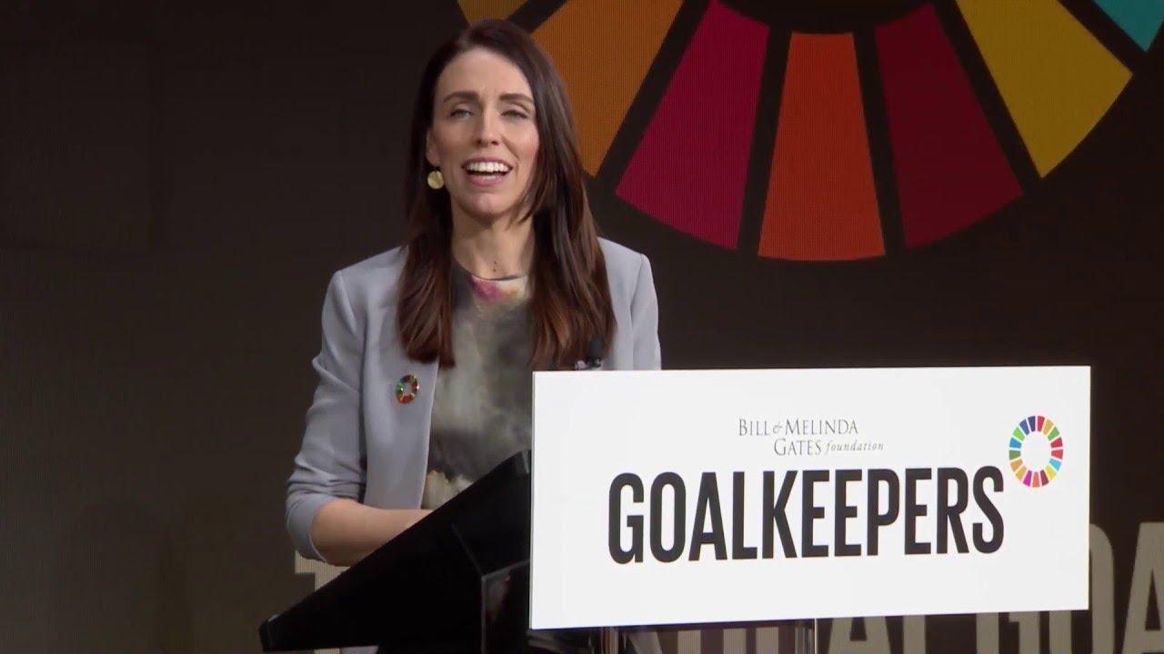 New Zealand's communist leader pushes Un Agenda 2030 - YouTube