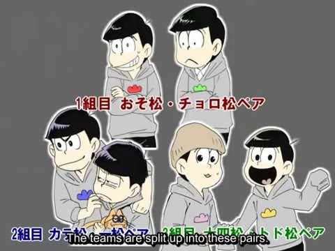 [ENG SUB] The sextuplets go on the test of courage (Osomatsu-san)