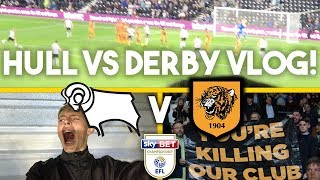 COULD IT GET ANY WORSE?! DERBY VS HULL AWAY DAY VLOG