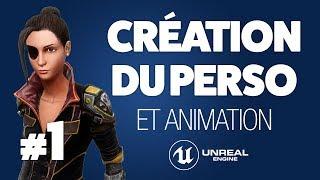 Choix du personnage et animations sur Mixamo - Tuto Unreal Engine 4 FR