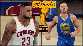 Nba 2k16 (ps4) 2016 nba finals game 3 - warriors vs cavs simulation
