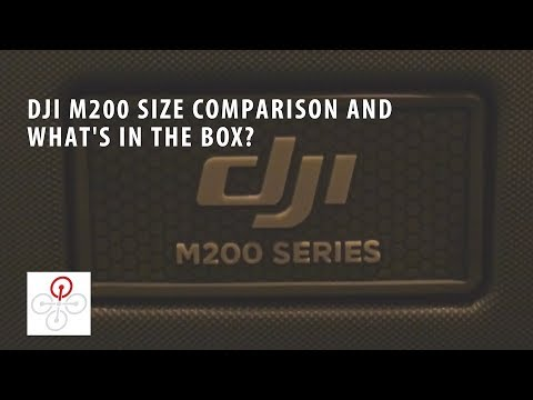 DJI M200 Whats In The Box And Size Comparison Matrice 200