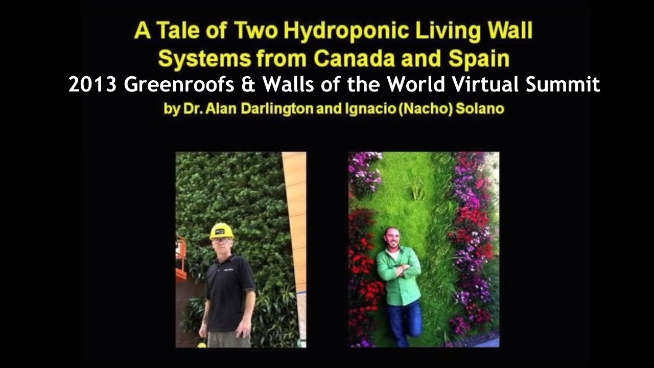 a tale of two hydroponic living wall systems from canada spain youtube. Black Bedroom Furniture Sets. Home Design Ideas