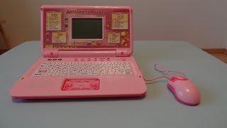 Детский Компьютер ноутбук обучающий с мышкой PLAY SMART 3 ЯЗЫКА, 35 ФУНКЦИЙ 7443