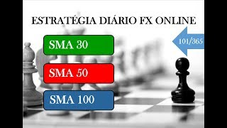 ESTRATÉGIA DIÁRIO FX ONLINE - Vídeo 101 de 365