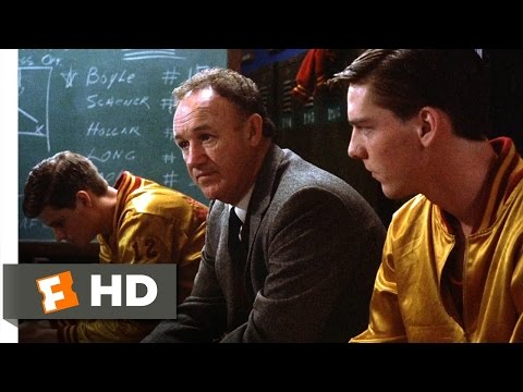 Hoosiers (11/12) Movie CLIP - David and Goliath (1986) HD