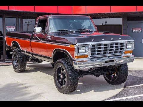 1978 Ford F250 4x4 Pickup For Sale Youtube