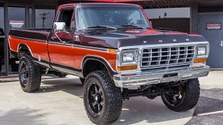 1978 Ford F250 4x4 Pickup For Sale