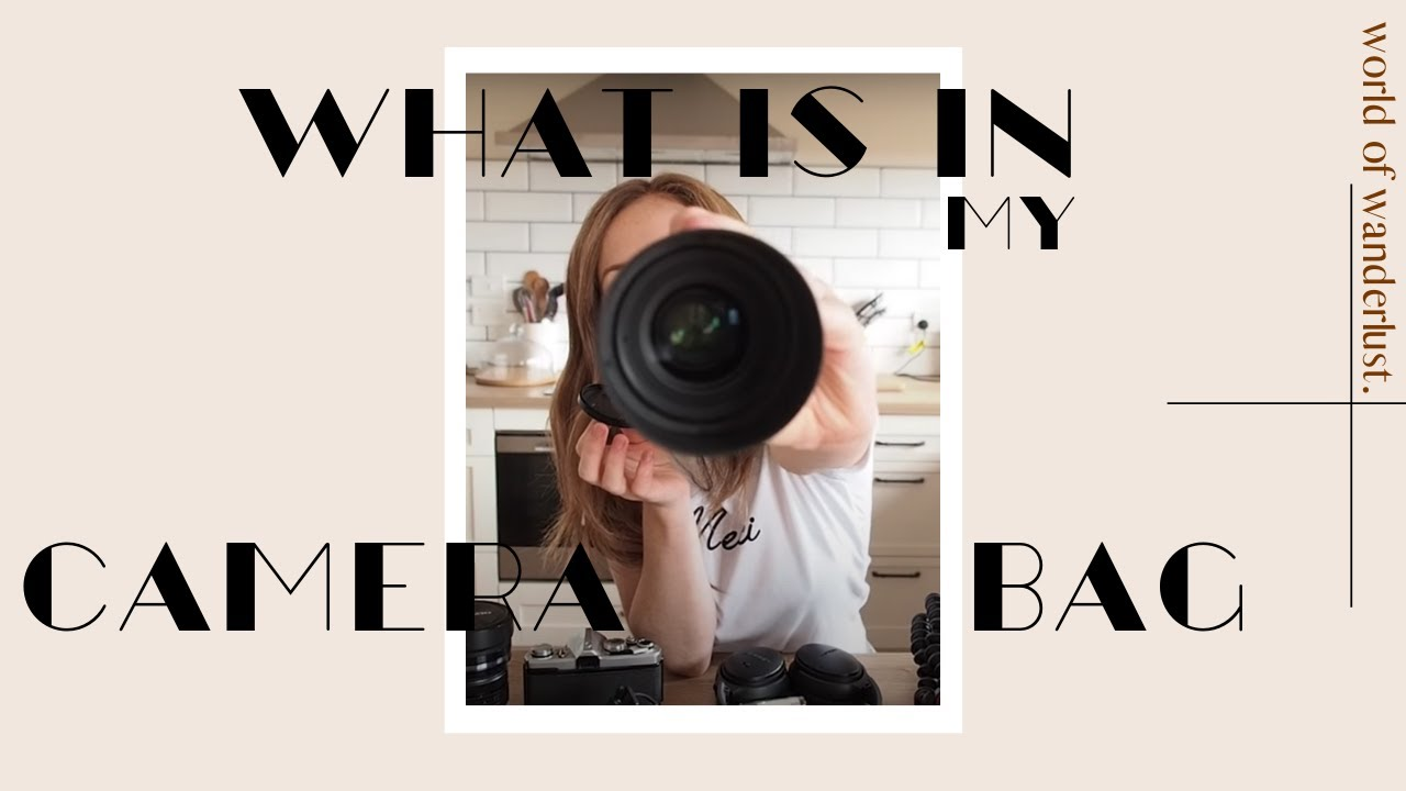 Download WHATS IN MY CAMERA BAG
