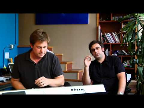 Tim and Eric in The Heart is A Drum Machine [2009]