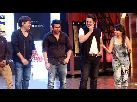 Sanket Bhosale,Krushna Abhishek,Sudesh Lehri,Sugandha FUNNY Comedy At The Drama Company Launch