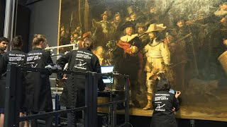 World invited to watch museum restore Rembrandt's 'Night Watch' | AFP
