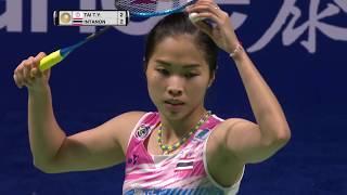 Tahoe China Open 2017 | Badminton QF M5-WS | Tai Tzu Ying vs Ratchanok Intanon