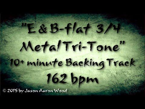 Free Metal Backing Track - 3/4 Metal Tri-Tone 162bpm- ShredMentor.com