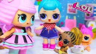 Детский Сад и Новенькая! Куклы ЛОЛ сюрприз распаковка. Мультик LOL Dolls