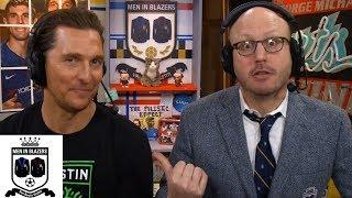 Men in Blazers: Matthew McConaughey on language of soccer,  his MLS club Austin FC   NBC Sports