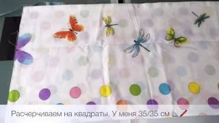 🎀 DIY 🎀 мягкие подушки-бортики для кроватки малыша своими руками(Шьём вместе бортики для кроватки. Мастер-класс по шитью., 2016-07-24T15:11:43.000Z)