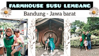 FARMHOUSE SUSU LEMBANG || Wisata Bandung 2020 || vlog weekend🌻