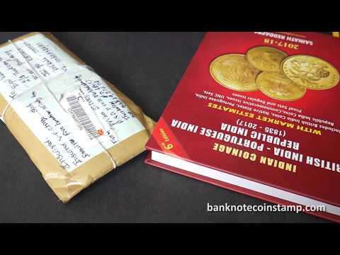 Indian Banknotes Bundle Unpacking