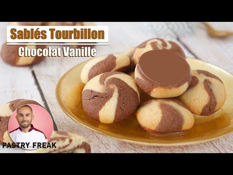 biscuits-sablÉs---vanille-chocolat