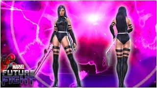 BEYOND EXPECTATIONS! OMEGA LEVEL PSYLOCKE (Gameplay & Build) - Marvel Future Fight