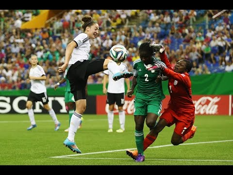 Canada 2014 FINAL HIGHLIGHTS: NIGERIA v. GERMANY