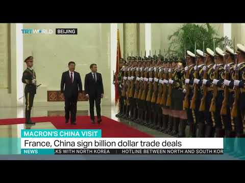 Macron meets China's Xi in Beijing to expand relations