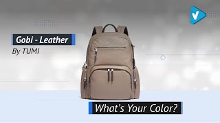 TUMI - Voyageur Carson Leather Laptop Backpack - 15 Inch Computer Bag: 2019 Colors Collection
