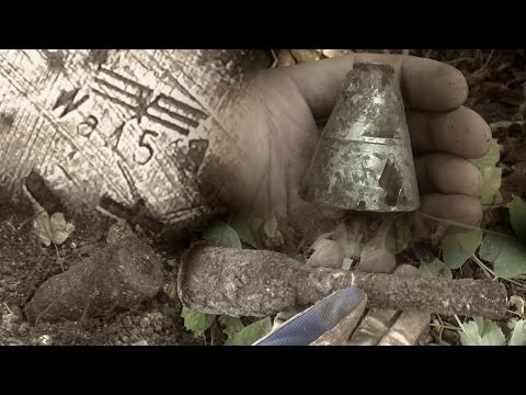 Metal Detecting WW2 - Battle of Aachen ( Germany ) Nice finds! [ History Secrets ]
