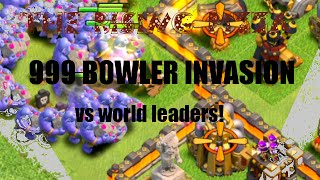 CLASH OF CLANS 999 BOWLER ATTACK