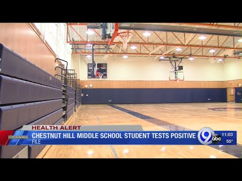 Chestnut Hill Middle School student tests positive