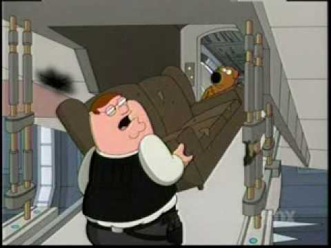 Family Guy Presents Blue Harvest: 'Save The Couch' Clip - YouTube Family Guy Blue Harvest Couch