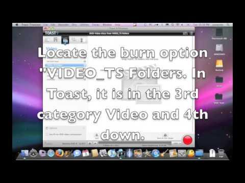 Burning VIDEO_TS on a Mac